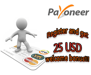 Register and Get 25 USD